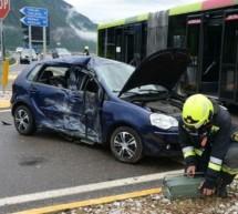 Unfall an MeBo-Kreuzung