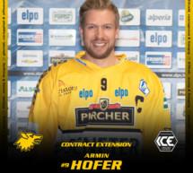 Armin Hofer bleibt beim HCP