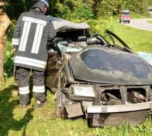 Crash in Pflersch
