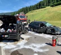 Crash bei Welsberg