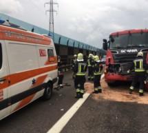 Lkw-Crash auf der A22