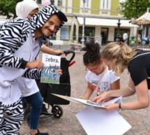 Lesesommer mit zebra.Kidz