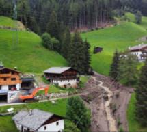 Murenabgänge im Mühlwald