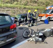 Crash mit 5 Verletzten