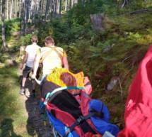 Vier Einsätze für die Bergretter