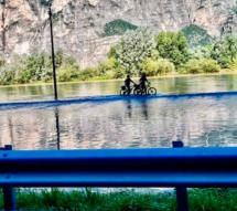 Die Hochwasser-Radfahrer
