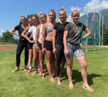Bob-Athletinnen in Latsch
