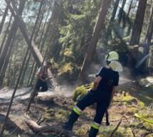 Waldbrand in St. Georgen
