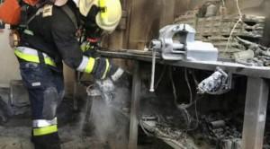 Brandalarm in Werkstatt