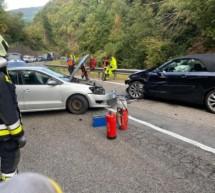 Crash zwischen zwei Pkw