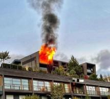 Feuer im Luxushotel
