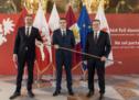 """""""Drei Länder, ein Europa"""""""