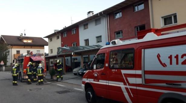 Feueralarm in Percha